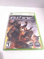 G.I. Joe: The Rise of Cobra (Microsoft Xbox 360, 2009)  CIB Tested