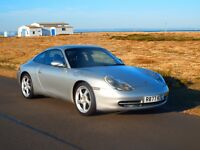 Porsche 911 Carrera 2 Coupe 6 Speed manual 996 LSD 030 Sunroof Delete NEW MOT