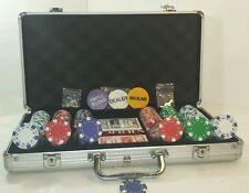 Deluxe 300 piece Poker Set Metal Case N.W.O.T