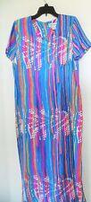 ~Stock Options Women's Striped Dress~Size L~100% Polyester