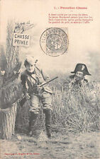 CPA - Bergeret - Première Chasse - 1