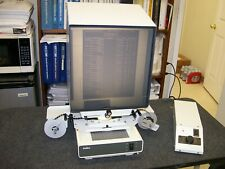 Indus 4601-11 microfilm reader motorized