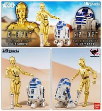 STAR WARS - S.H.Figuarts  - C-3PO & R2-D2  - 6 inch - 1/12 - NEUFS
