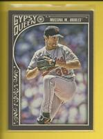 Mike Mussina  2015 Topps Gypsy Queen Card # 31  Orioles Yankees Baseball HOF
