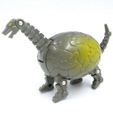 Vintage 90s Transformer Egg Dinosaur Brontosaurus, Bandai / Meteorbs Motu Ko