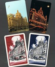 Playing Swap Cards  4  VINT  HARRODS  STORE  LONDON  SUPER  CARDS  W234