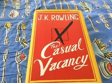 """JK Rowling Book """"The casual vacancy"""""""
