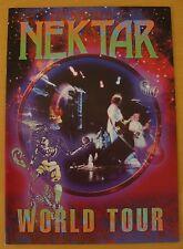 Programme: Nektar : World Tour Programme - 2002
