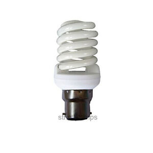 35w Energy Saving Spiral Light Bulb 175w Equivalent Very Bright Bayonet Cap B22
