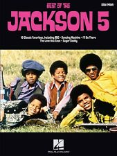 Best of the Jackson 5 Sheet Music Easy Piano Book New 000316139