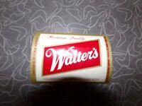 Vintage Walters Light Beer Walter Brewing Co Colorado Beer Bottle Label