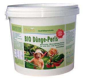 Bio Dünge-Perls 5kg Universaldünger für ALLE Pflanzen reiner BioDünger 3,92 €/kg