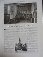 1909 4 Nordassel Kirche Burgdorf