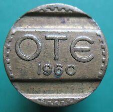 Telephone token - jeton - Greece - OTE - 1960
