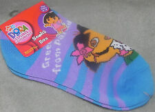NEW DORA THE EXPLORER GIRLS SOCKS SIZE 6-8