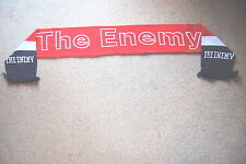 THE ENEMY RED WHITE & BLUE BAND SCARF NEW OFFICIAL MUSIC FOR THE PEOPLE STREETS