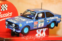 "Slot SCX Scalextric 63550 Ford Escort MKII ""Eaton Yale"" N#1 - New"