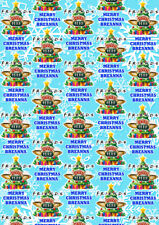 FRIENDS Personalised Christmas Gift Wrap - Friends Wrapping Paper TV Shows