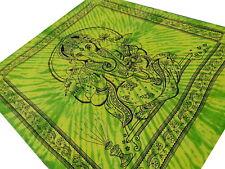 Ganesha Batik Couvre-lit Tenture Dieu Hindou Boho Coton Inde Shiva Hippie Nepal