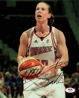 Katie Smith Signed 8x10 photo WNBA USA PSA/DNA Autographed Lynx