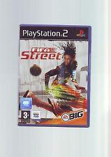 FIFA STREET-Sony Playstation PS2 gioco di calcio-Veloce Post Originale & Complete