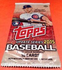 2015 Topps Baseball Update HOBBY Pack (Kris Bryant RC Chrome/Relic/Black/1of1)?