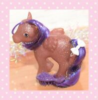 ❤️My Little Pony MLP G1 Vintage Twinkler Sparkle Ponies Purple Pegasus Tinsel❤️