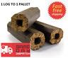 Premium Wooden Heat Logs Fuel for Firewood, Open Fires, Stoves & Log Burner Eco