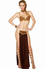 Sexy space slave star wars princess leia sci fi party dress halloween costume