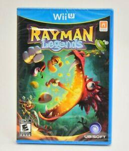 Rayman Legends (Nintendo Wii U, 2013) NEW