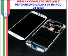 Display Schermo LCD Touch Samsung Galaxy S4 I9505 Originale Bianco I9515 GT oem