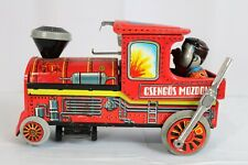 1980's Hungary Tin Train Toy Locomotive Csengos Mozdony - Battery Operated!