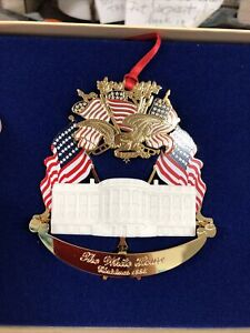 THE WHITE HOUSE HISTORICAL ASSN ORNAMENT 1995