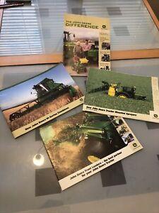 John Deere Tractor Combines Implements Sprayers Parts Toys Brochures X4. British