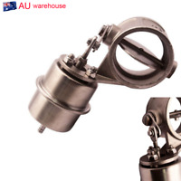 1xStainless Steel 304 Boost Activated Exhaust Cutout 51MM Open Style About 1Bar