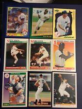 1990's EVERETT-LEITER-WILLIAMS-BLOWERS-ADKINS-RAMOS-DREWS Yankees RC Lot LOOK !