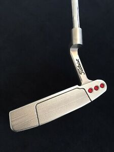 """Scotty Cameron Select Newport H Heavier Head Putter Excellent 34"""" Inc Headcover"""