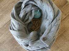 CYBER SALE - Knit Scarf, Winter Scarf, Infinity Scarf, Scarves, Holiday Gift
