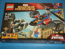 Lego #76016 SPIDER-HELICOPTOR RESCUE (Marvel Ultimate Spider-Man) Green Goblin A