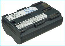 7.4 V Batteria per Canon EOS 20D, FV300, ZR25MC, MV650i, FV50, ZR30MC, PowerShot G