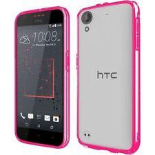 Étuis, housses et coques roses transparentes pour téléphone mobile et assistant personnel (PDA) HTC