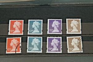 GB 1999 - HIGH VALUE DEFINITIVES - £1.50-£5.00 - SET OF 4 U/MINT & F/USED
