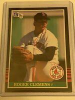 🔥 1985 DONRUSS Baseball Card Set #273 🔥 BOSTON RED SOX ROGER CLEMENS ROOKIE RC