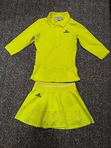 Set skirt Adidas Stella MacCartney long sleeve t-shirt tennis sports size (XS)