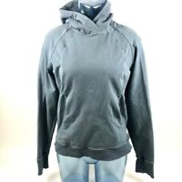 Lululemon Womens Hoodie Blue Pullover Thumb Hole Raglan Long Sleeve Sweatshirt 6