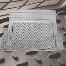 Trunk Cargo Floor Mats for Auto SUV Van All Weather Rubber Gray