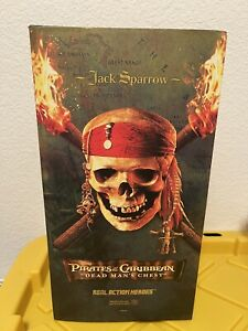 """12"""" Jack Sparrow Deluxe Action Figure New Medicom Pirates of the Caribbean Depp"""