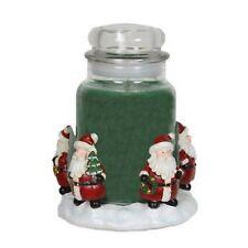 Aromatize 14cm Candle Jar Holder / Hugger - Santa