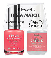 ibd It's A Match Advanced Wear Duo Just Gel & Polish Rome Around 65313