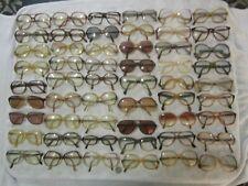 Mix Lot of 54 Eyeglasses Men Women Names Big Wide Vintage Aviators Poker Jockey
